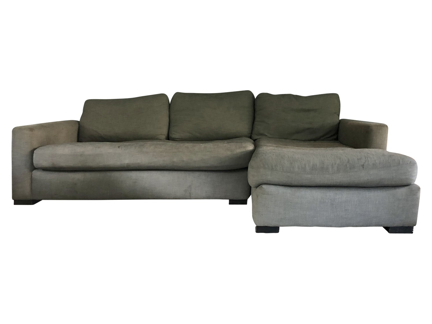 restoration hardware maxwell right arm chaise sectional