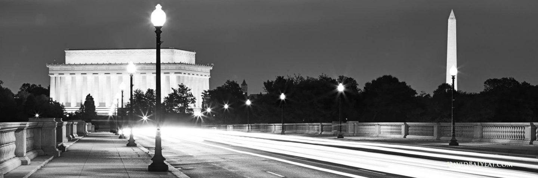 Cropped Arlington Memorial Bridge Lincoln Memorial Washington Monument Dc High Definition Hd Professional Landscape Photography Jpg Multimedia Work Of Howard R Fletcher