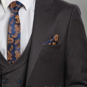 Donatella Black striped Turkey Suits in Kenya