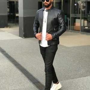 Men's Leather Jacket – Black