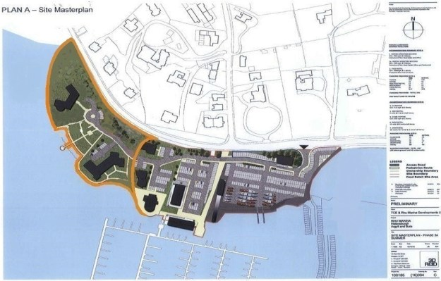 How it could - the masterplan's vision for Rhu Marina