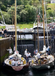 A cene at the Crinan Classics event in 2010. Picture by Peter Sandground