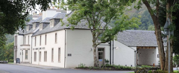 The Luss coaching inn reopened last year after refurbishment