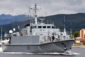 HMS Blyth is based at Faslane