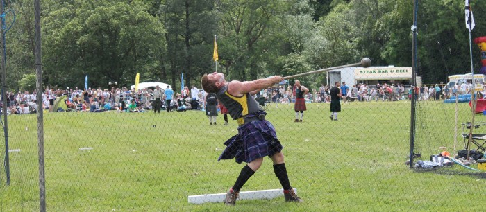 Hammer-throwing will be one of the highlights of the Games.