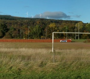 The potential view from Lomond School's sports field in Helensburgh