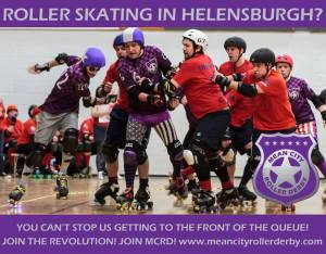 The roller rink will now be sponsored by Helensburgh Toyota