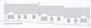 The charities say the new houses would fit into the vllage conservation area.