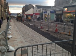 Work in progress - Helensburgh town centre today