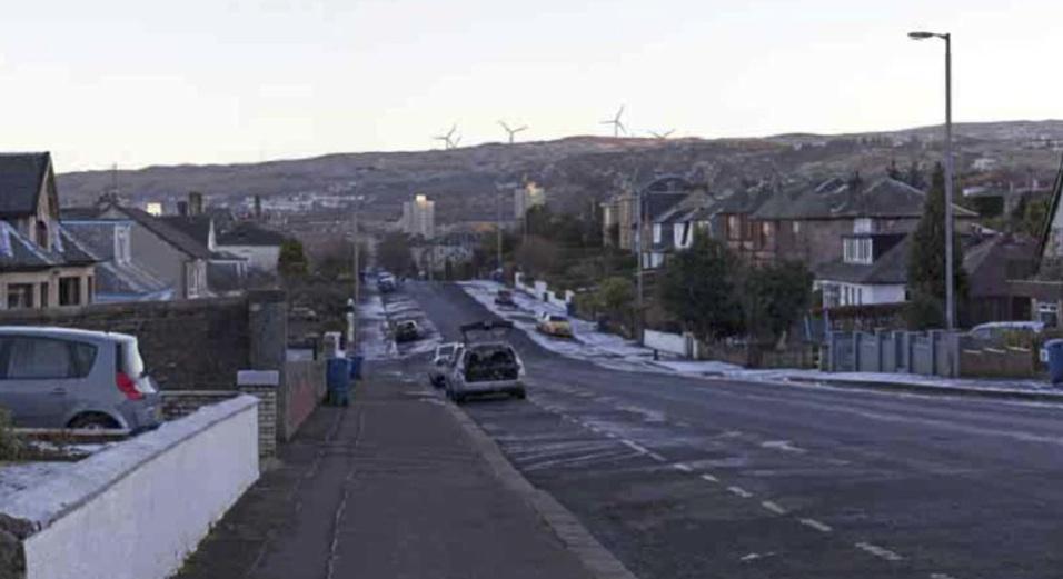 View from Newton Street, Greenock