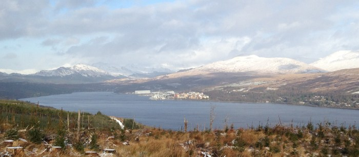The new building would be on the Gareloch at Faslane.