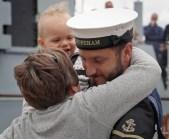 'A SHORE THING' - HMS SHOREHAM RETURNS HOME