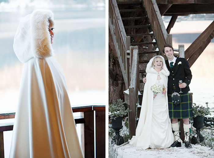 Winter wedding at The Lodge