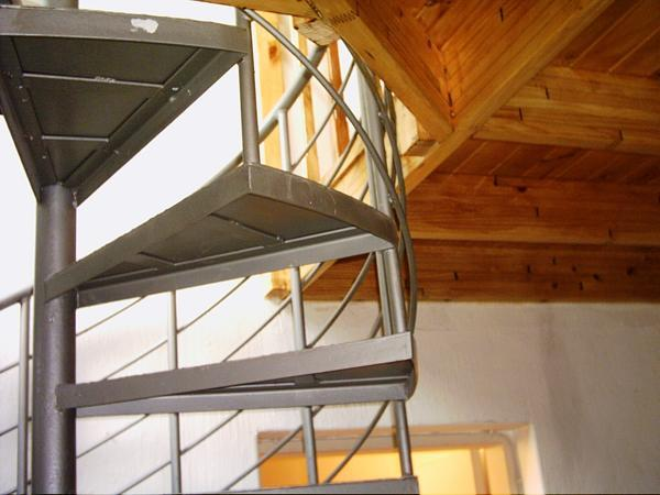 Mezzanine with Space Saver Staircase