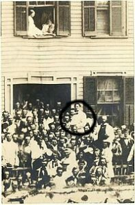 Lincoln at Home 1858