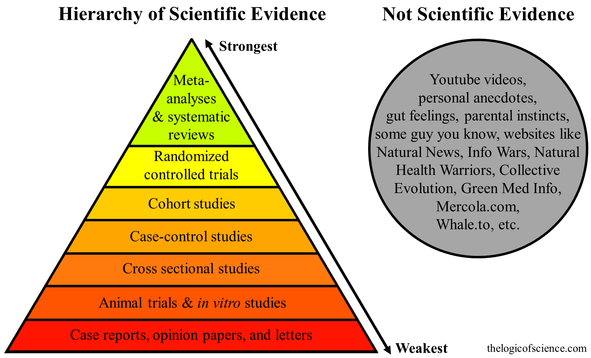 The Hierarchy Of Evidence Is The Study S Design Robust