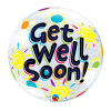 get well bubble balloon