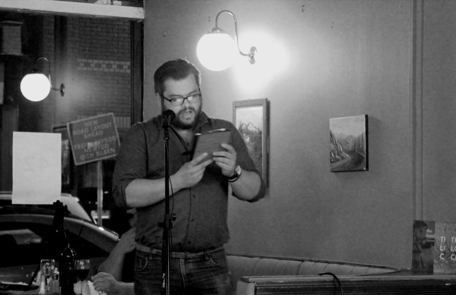 Gary Raymond reading a brand new story, from our forthcoming third issue.