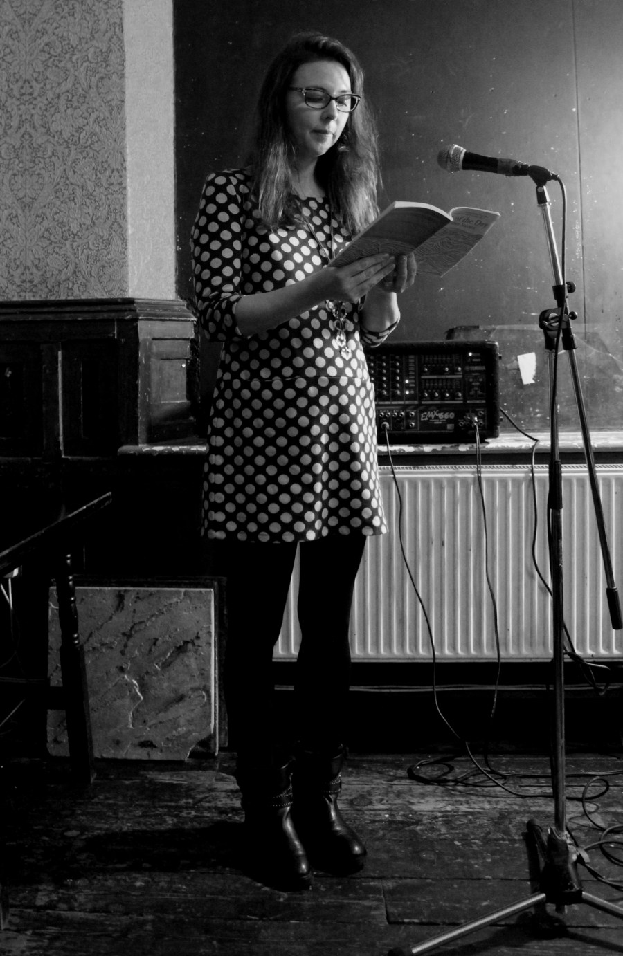 Sarah Reynolds reading her Rhys Davies Prize-winning short story, 'Catch of the Day'.