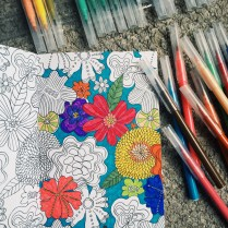 Art Therapy colouring books