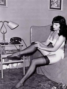 1950s Bettie Page