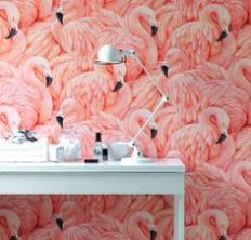 flamingo-wall