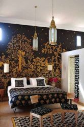 gold-tree-bedroom