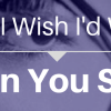 Songs I Wish I'd Written: When You Smile
