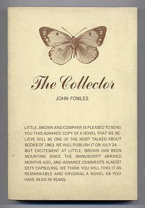 The Collector Advanced Reading Copy First American Edition