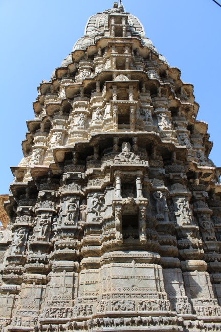 Massive and intricate tower