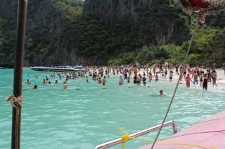 Paradise lost - Maya bay today