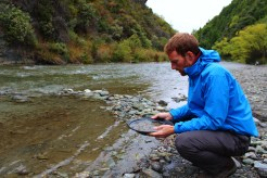 Failed attempt at panning for gold
