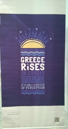 """""""Crisis is a Greek word"""""""