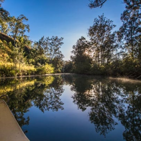 canoeing, river, peace, seclusion, water views, The Long Weekend Retreat