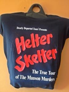 Helter Skelter Tour, the T-Shirt (Photo by Nikki Kreuzer)