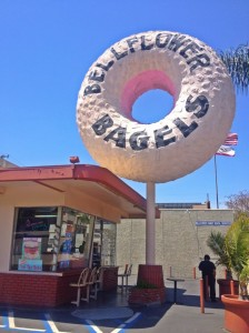 Bellflower Bagels was originally the 8th Big Donut. (Photo by Nikki Kreuzer)