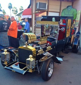 The Munster Koach designed by George Barris (photo by Nikki Kreuzer)