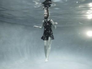 Gilr In Pool