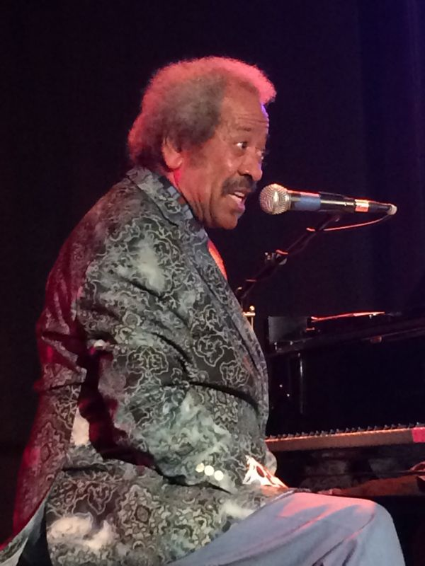 Allen Toussaint hypnotizes the audience (photo by Nikki Kreuzer)