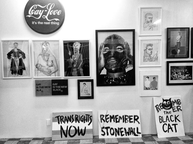 Queer Biennial I wall
