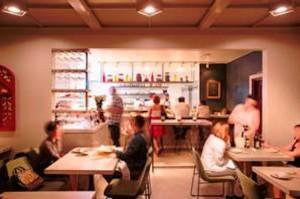 Saint Martha's interior. Photo courtesy of Saint Martha restaurant. Photo by Mike Kelly and Ryan Phillips.