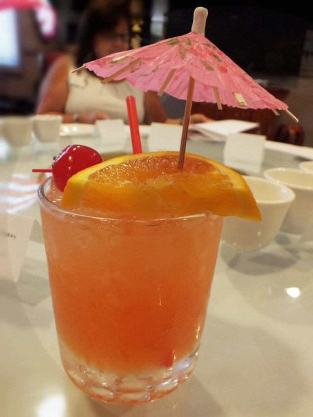 The Mai Tai is one of the best drinks the Tiki culture has brought us. Photo by Edward Simon for The Los Angeles Beat.