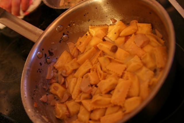 Celestino Drago's Stuffed Pasta LAFW 2012 (Elise Thompson)