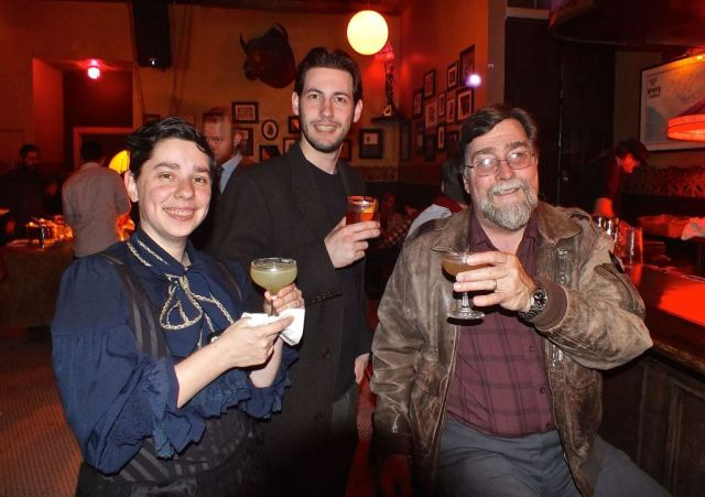 Toasting to Repeal day.  Photo by Ed simon for The Los Angeles Bea