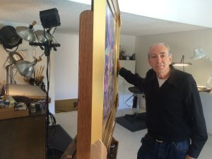 Robert Williams today in his home art studio (photo by Nikki Kreuzer)