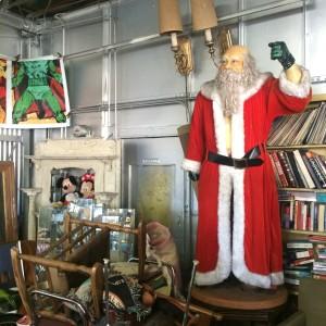 Santa for hire... (photo by Nikki Kreuzer)