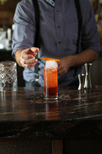 Negroni Slushy from Broadway by Amar Santana in Laguna Beach. Photo courtesy of InspireArtisticMinds.og