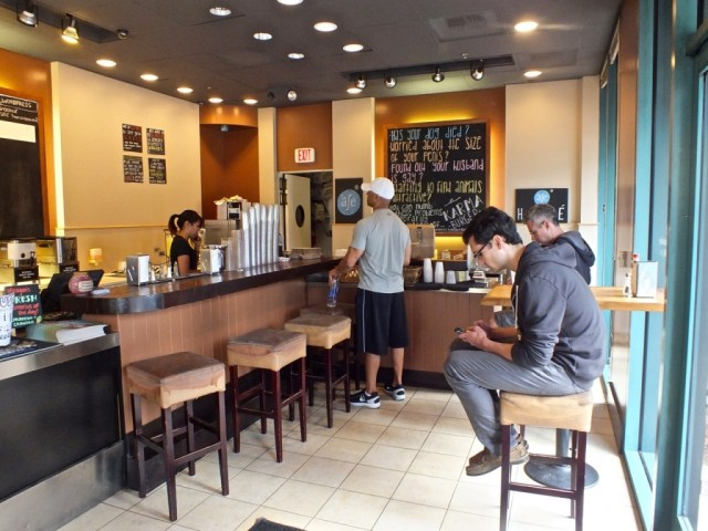 Mick's Karma Bar INT. Photo by Ed Simon for The Los Angeles Beat.