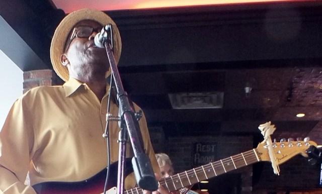 Greg singing front