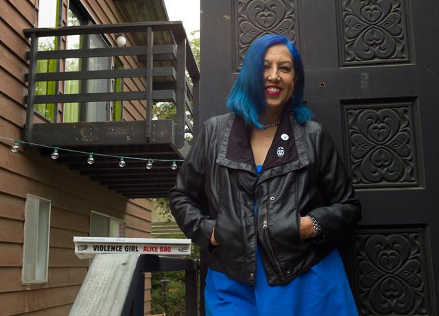 Alice Bag (Photo by Judy Ornelas Sisneros for The LA Beat)